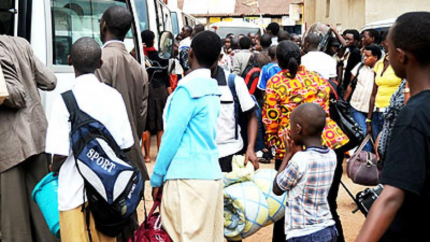 Muvunyi said all students must have reported to school by February 10. /Education Times/Timothy Kisambira