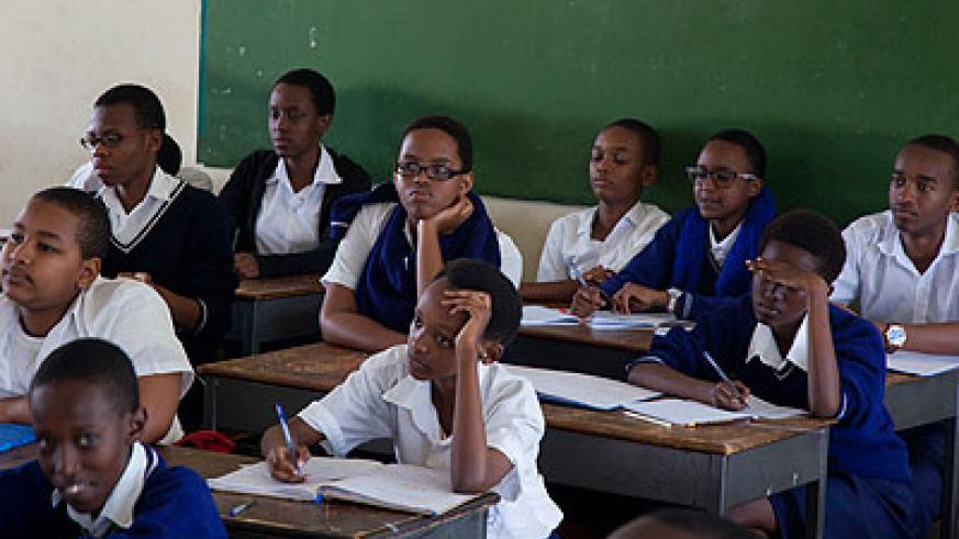 IFAK students during a lesson on January 23. The New Times / T. Kisambira.