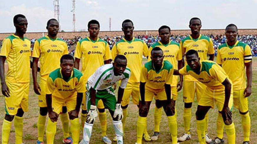 Gicumbi FC have lost all their last three league matches and now find themselves closer to the relegation zone. File.