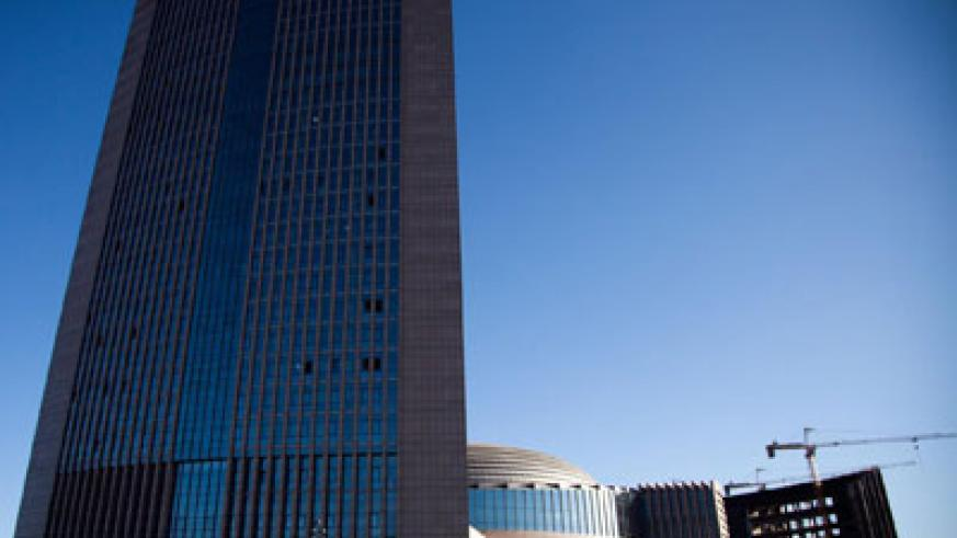 The AU Headquarters in Addis-Ababa, Ethiopia. The project was funded by China. Courtesy photo.
