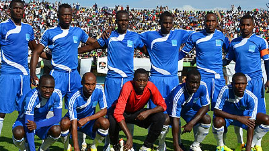 Rayon Sports, seen here before a previous league game, are hoping to make better use of their huge home support as advantage to see off AC Leopards de Dolisie. Timothy Kisambira.