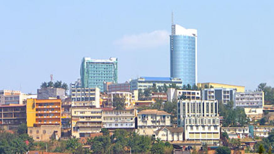 A view of Kigali city