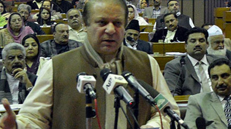 Nawaz Sharif says Pakistan cannot afford such bloodshed, which has claimed 60 lives since talks began. Net photo.
