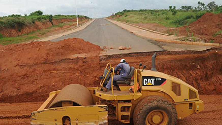 A contractor repairs a road. It is important for government departments to evaluate activities to ensure to good performance. The New Times / File