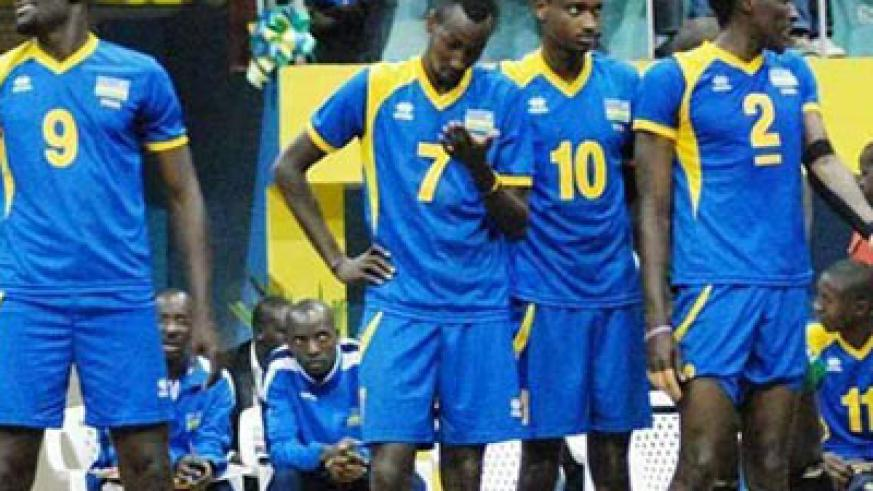 Rwanda won three and lost one of it's qualifying matches but missed out on a place at this year's FIVB World Championships. File.