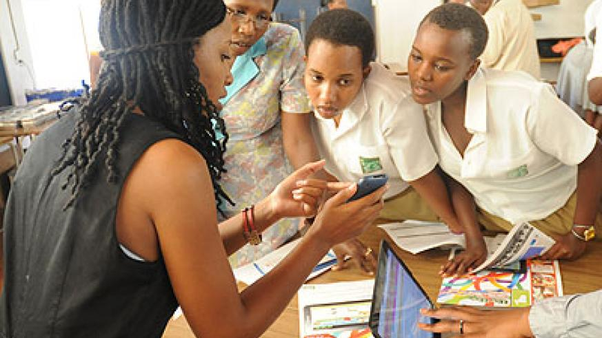 ICT is also still lacking gender balance because girls shy away from science and technology. File photos