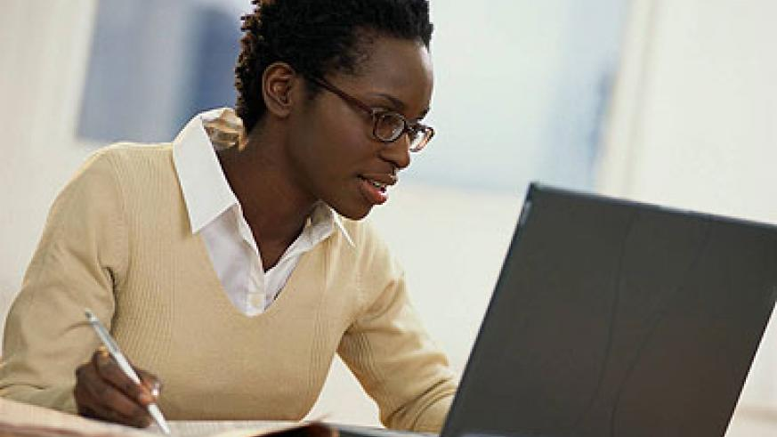 One advantage of online education is that it gives you the opportunity to work from the comfort of your home