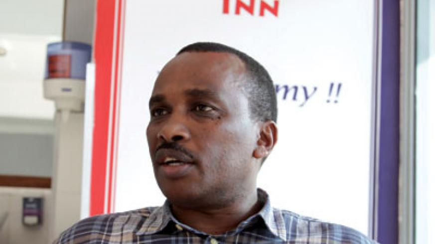 Mulego urges hoteliers to use alternative energy sources to cut power bills. The New Times / P. Tumwebaze.