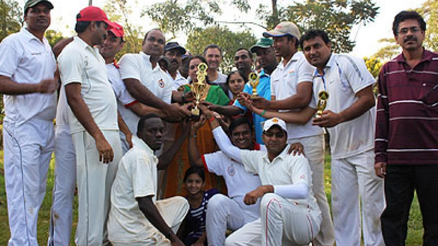 Challengers celebrate their Cup victory. Courtesy.
