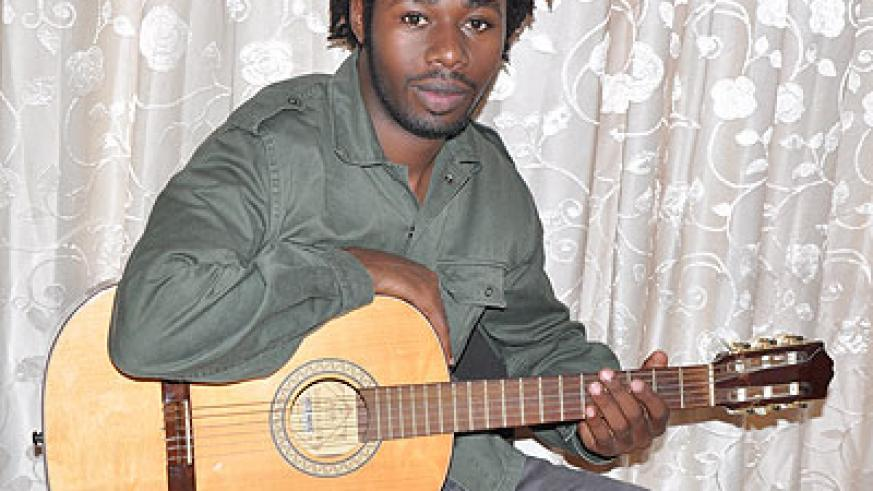 Jean-Chrysostome Tuyishime is a Rwandan reggae artiste, guitarist and songwriter. (Joseph Oindo)