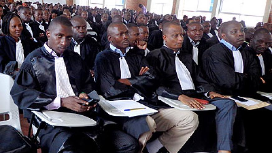 Lawyers at the meeting on Saturday. J C Tabaro.