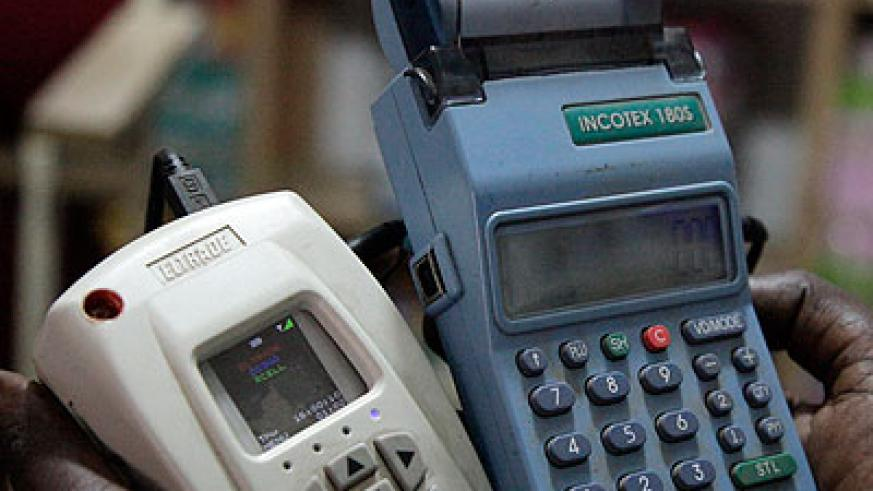 E-billing machines. RRA is keen on enforcing the March 31 deadline. (File)