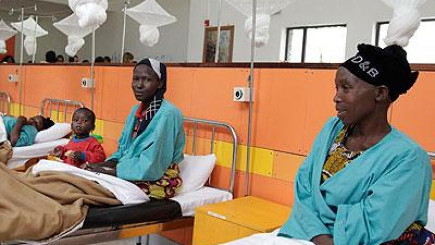 Patients at Butaro Cancer Hospital. The district seeks to improve healthcare. (File)