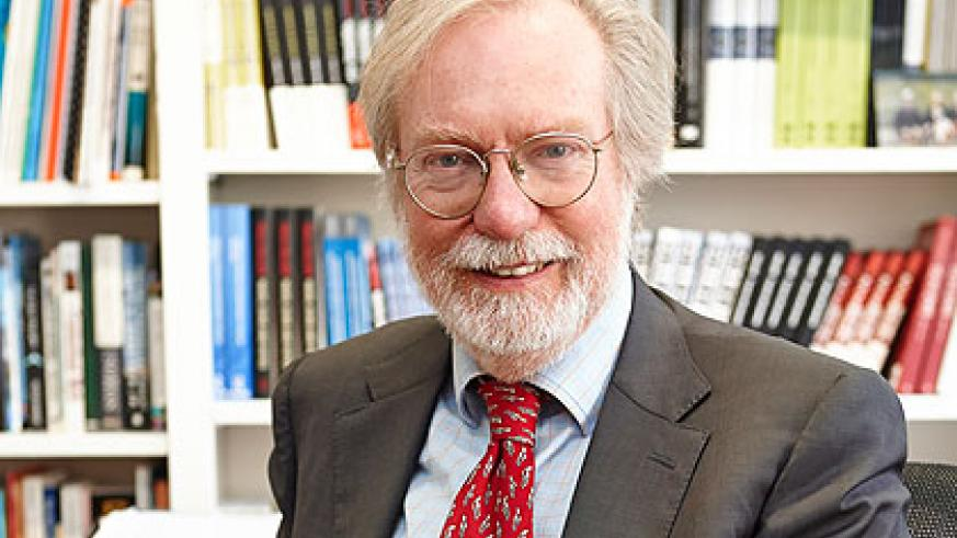 Prof. Collier says in Rwanda, Africa at last has a society in which justice has decisively replaced patronage. (Courtesy)