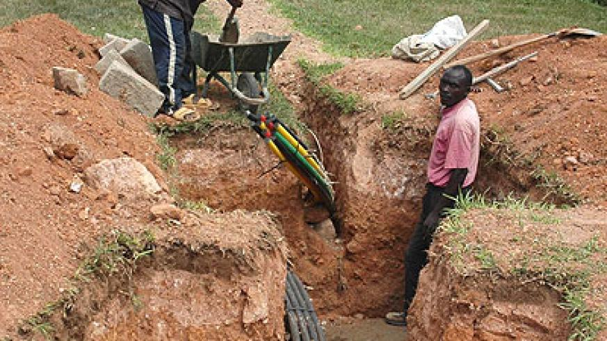 Investment in fibre optic across the country has spurred ICT growth. (File)