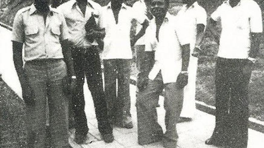 Members of Orchestre Impala, the celebrated 'Kings of old school' music. Some of them were killed during the 1994 Genocide against the Tutsi. Courtesy