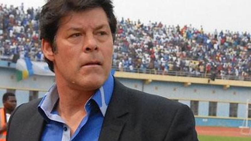 Luc Eymael during a previous game. (File)