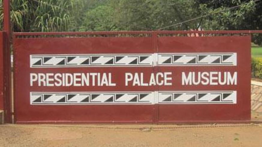The main entrance to the presidential palace museum. (Fergus Simpson)