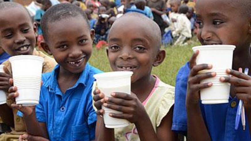 Every child has a right to food, education and health. (File)