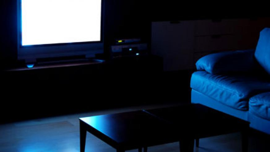 The Truth About Watching TV In A Dark Room