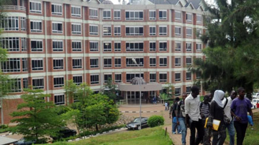 University of Rwanda's College of Science and Technology. The varsity will role out PhD programme next academic year.  File.