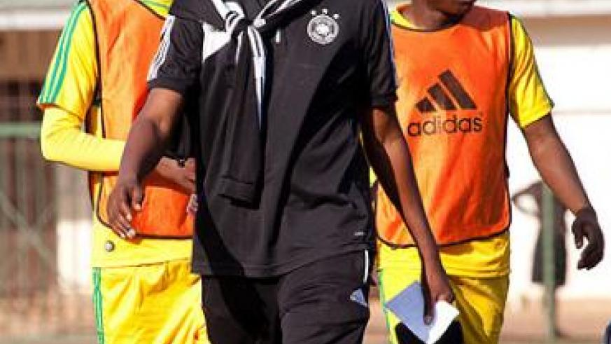Former AS Kigali coach Andrew Cassa Mbungo is now a Police tactian until 2017. File.