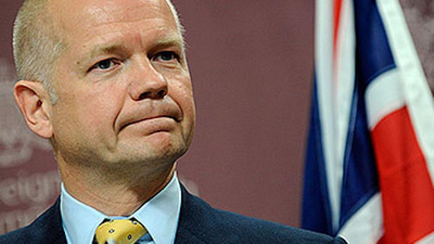 STEPPED DOWN: William Hague