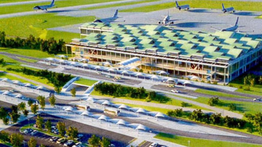 An artistic impression of the planned Bugesera International Airport. (Courtesy)