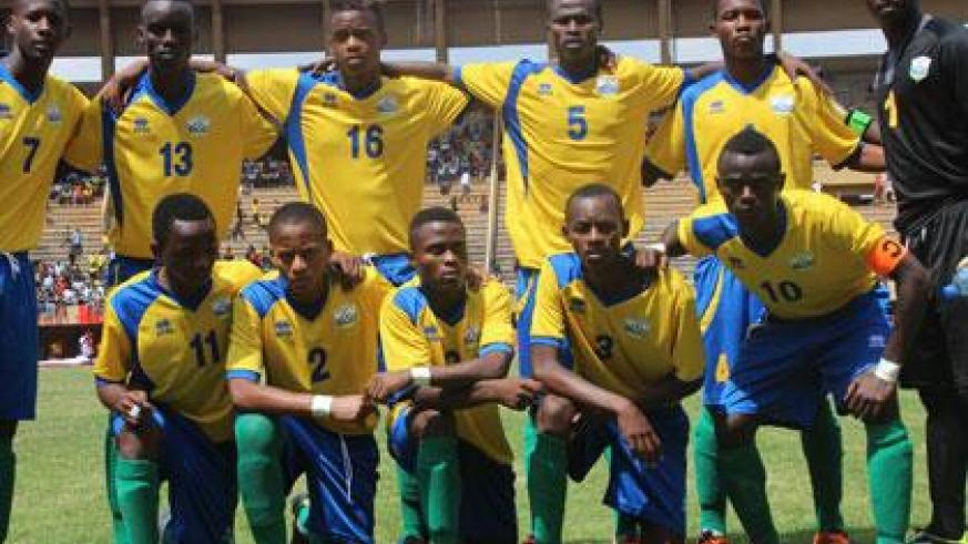 The Junior Wasps need to score at least five unanswered goals in the return leg against Uganda to reach the next round. (Courtesy)