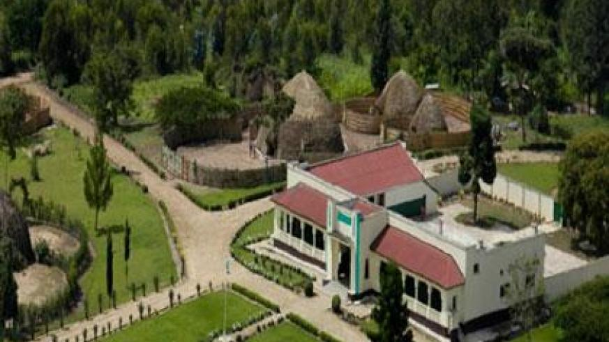 The king's palace museum in Nyanza. (Courtesy)