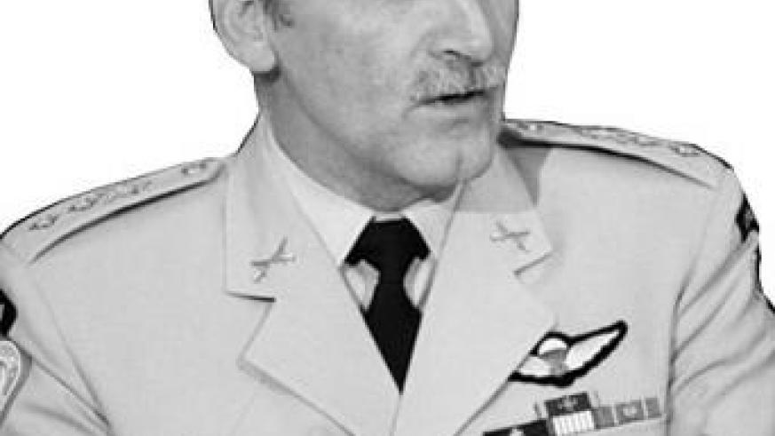 General Dallaire, head of military operations of the Unamir.