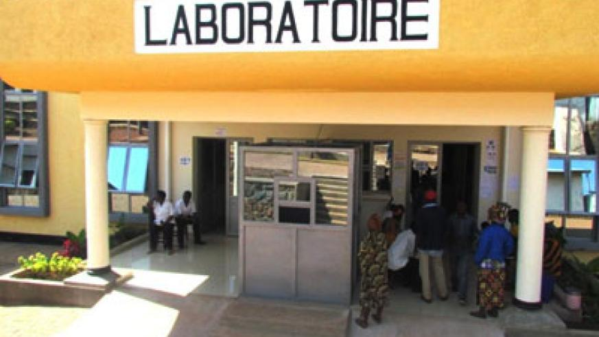 The Rwf3.7bn new labaratory in Ngoma District. The lab is expected to perform high level disease tests. Stephen Rwembeho.
