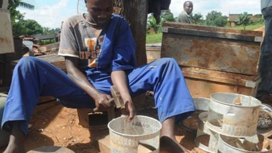 Vocational training for skills will provide youth with off farm jobs needed to improve living conditions. (File)