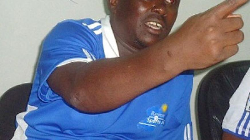 Former Rayon Sports coach Jean Marie Ntagwabira has ended his two-year ban by becoming the Technical Director of Sunrise FC. File