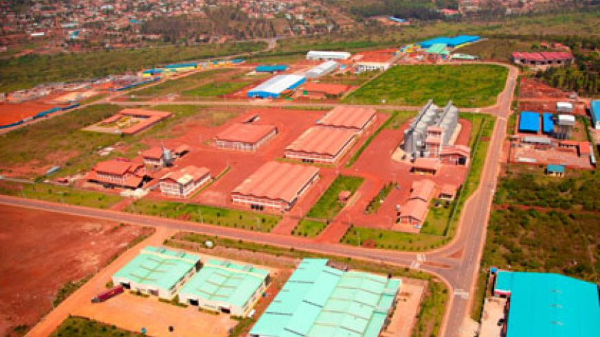 An Aerial view of the Economic zone.Timothy Kisambira.