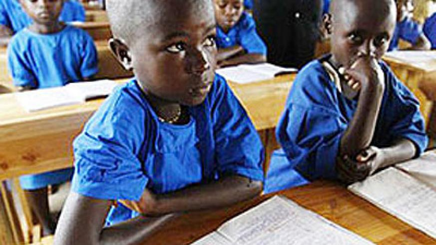 Pupils in class. Education stalwarts have their work cut out. File.