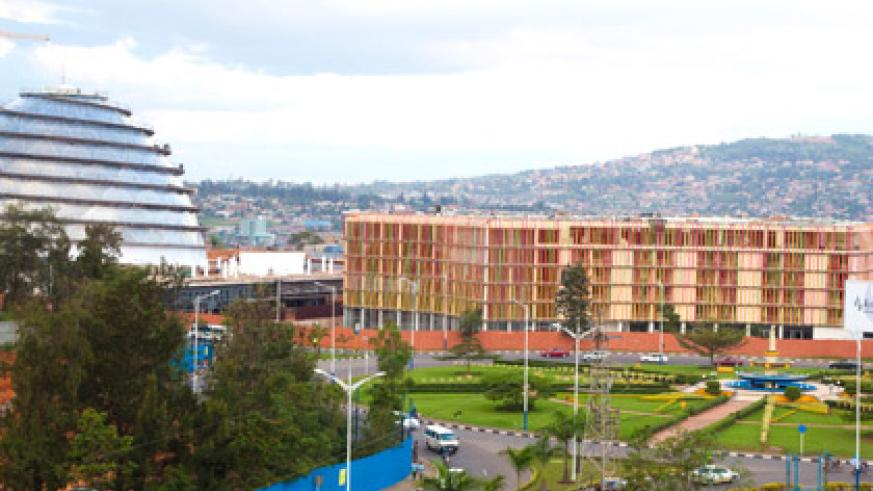 The initial $400m Eurobond issue was used to fund infrastructure projects like the almost complete Kigali Convention Centre (Timothy Kisambira)