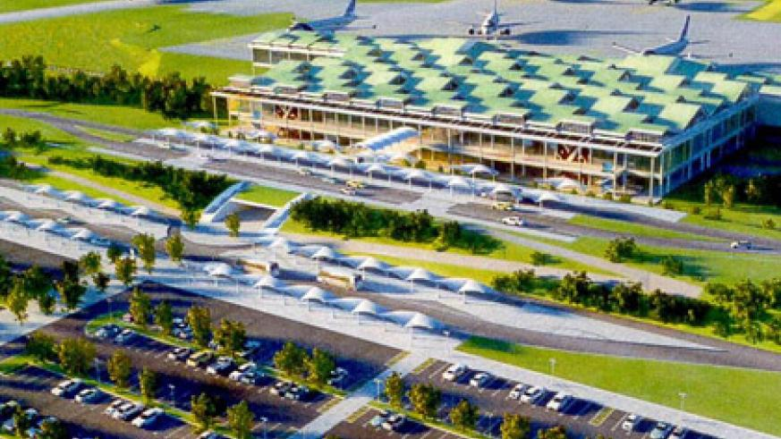 An artistic impression of Bugesera International Airport that will boost tourism once it is completed. (File)