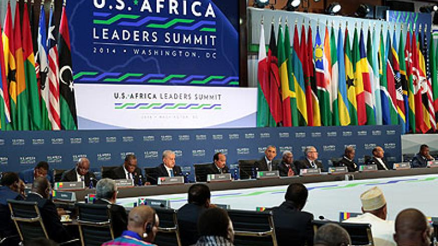African heads of state with US President Barack Obama during the summit. Courtesy.