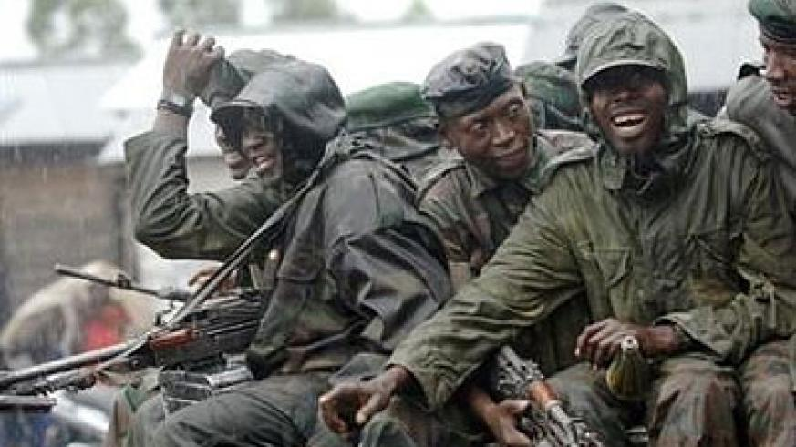 Some of the FDLR combattants in Eastern DRC. Net.