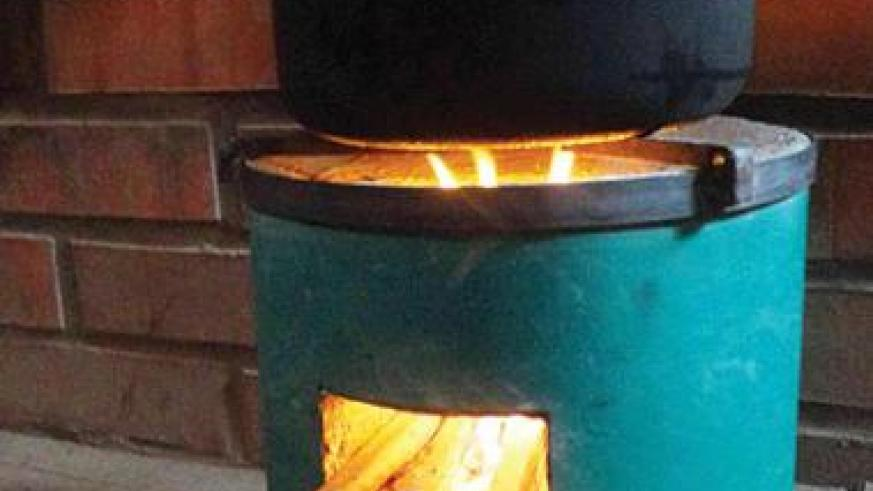 """A cooking stove developed in Bugesera District. The stove, commonly known as """"Gabanyibicanwa,"""" is fuel efficient, but could be short of WHO safety and environment standards.  Net photo."""