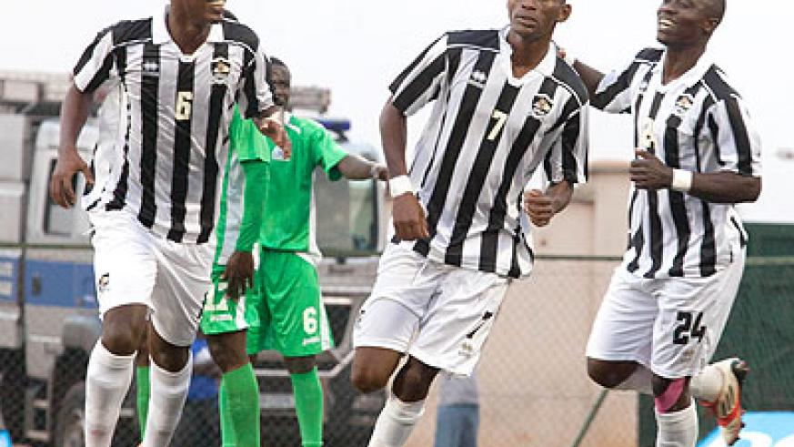 APR last evening joined Police and Rayon Sports in the quarterfinals of Cecafa Kagame Cup 2014 after drawing 2-2 with Kenyan side Gor Mahia at Kigali Regional Stadium.