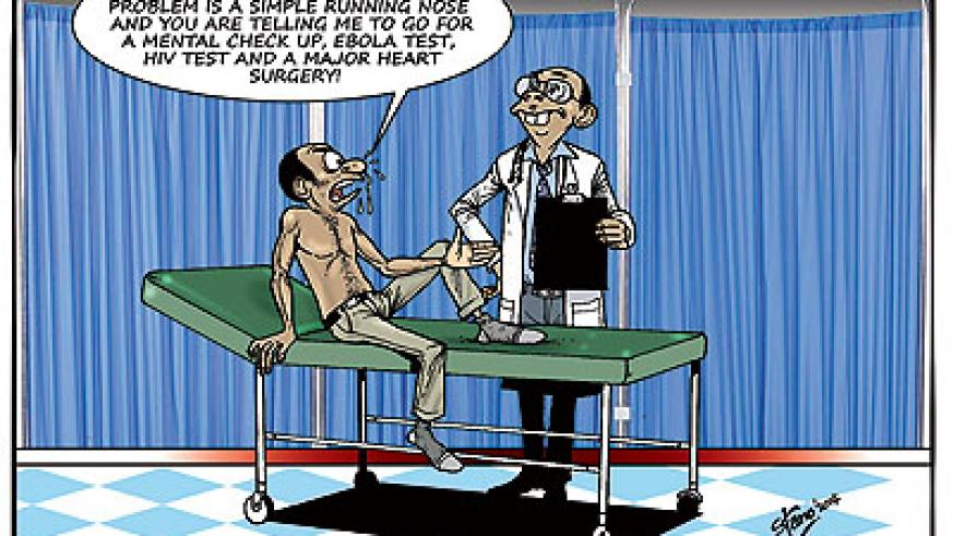 Private health centres reportedly prescribe costly drugs, scans and tests even for simple illnesses just to make quick bucks.
