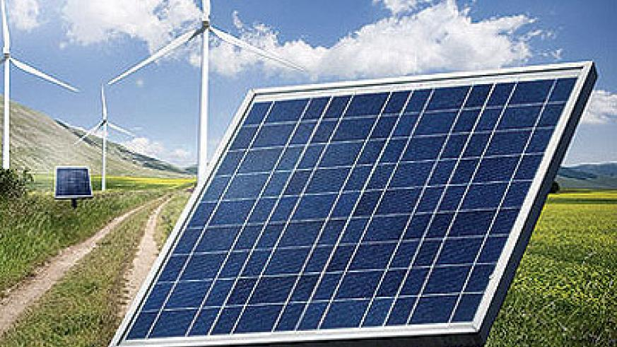 Wind and solar power are some of the common sources of renewable energy in East Africa. File.