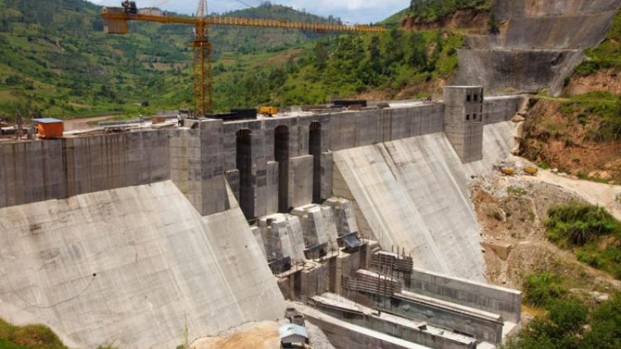 Nyabarongo hydro power plant is still under construction more than four years since the contract was signed. (File)