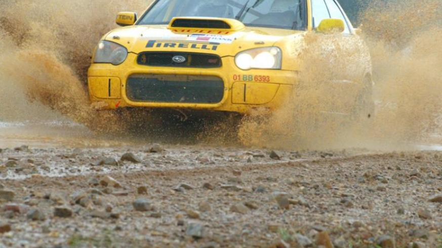 Giancarlo Davite will not take part in this year's Kenya Safari Rally. (File photo)