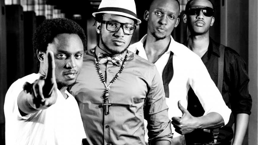 R-L: Sendru, The Ben, Meddy and Kavuyo K8 started Press One Records in Chicago. (Internet photo)