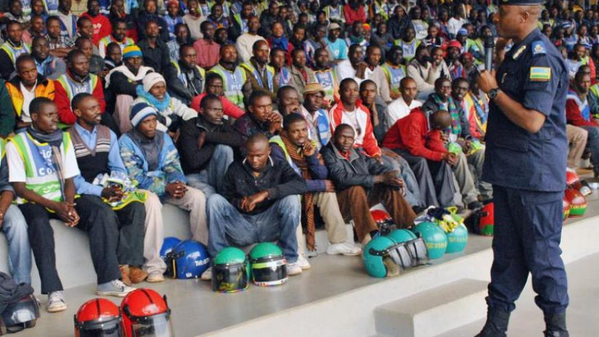 Youth during a past interactive session with a senior police officer. (File Photo)