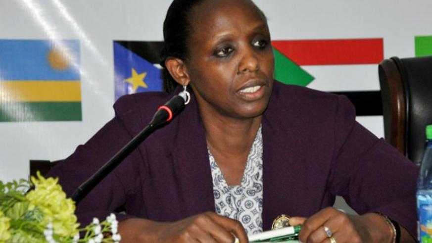 Former Minister for Agriculture and Animal Resources, Agnes Kalibata (File)
