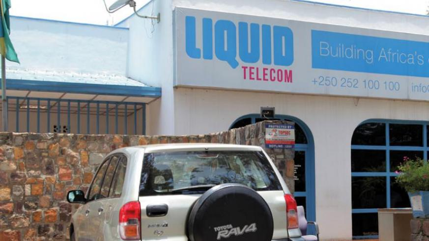 Liquid Telecom targets to connect 3,500 homes and commercial buildings by the end of the year. The firm already has 46 km of underground fibre optic cable. (John Mbanda)